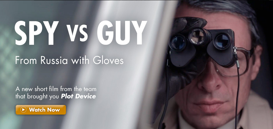 Short Film: Spy vs. Guy